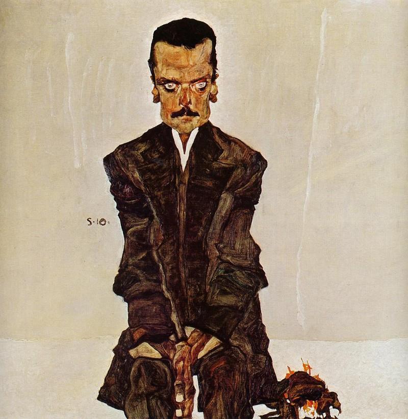 Egon Schiele, Porträt Eduard Kosmack, 1910